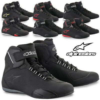 Alpinestars Mens Sektor Motorcycle Street Riding Shoes Pick Color//Size//Vented