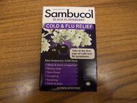 Sambucol Black Elderberry Cold And Flu Relief 30 Quick Dissolve Tablets