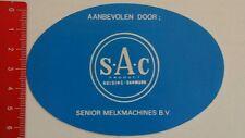 Aufkleber/Sticker: S A C Kolding Danmark Product (23051623)