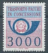 1986 ITALIA PACCHI IN CONCESSIONE 3000 LIRE MNH ** - ED