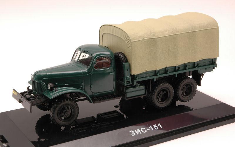 ZIS 151 1951 verde 1:43 MODEL DIP Models