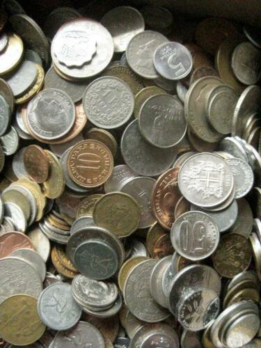 1000 nice varied mix many BU coins app 10 lbs pounds world foreign coins coin
