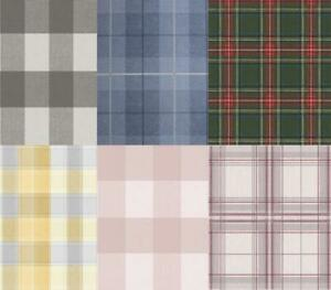 Checked-Tartan-Wallpaper-Textured-Glitter-Country-Check-Modern-Collection