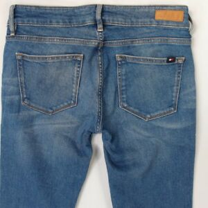 7df88f86 Ladies Womens Tommy Hilfiger VENICE RW Stretch Skinny Blue Jeans W28 ...
