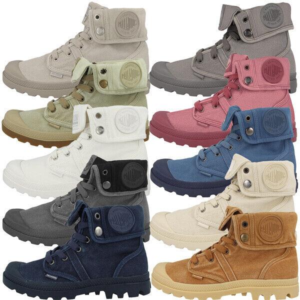 Palladium Pallabrouse Baggy Stiefel Schuhe Damen High Top Turnschuhe Stiefel 92478