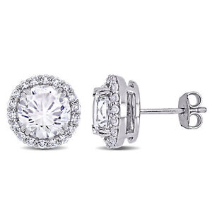 Amour-Sterling-Silver-5-1-2ct-TGW-Created-White-Sapphire-Halo-Stud-Earrings