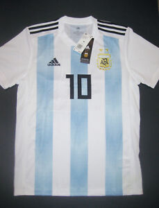 on sale 613ea 01956 Image is loading 2018-2019-World-Cup-Adidas-Argentina-Lionel-Messi-
