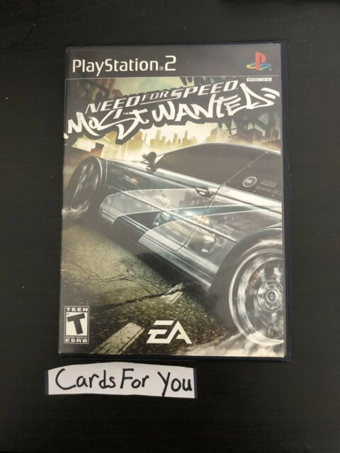 Need For Speed Most Wanted Sony Playstation 2 2005 For Sale Online Ebay
