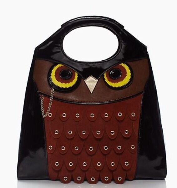 NWT Kate Spade Maximillian Maxwell Owl Bag Tote RARE Retail $450+