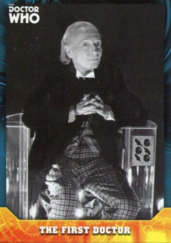 Doctor Who Signature Series Base Card #1 The First Doctor