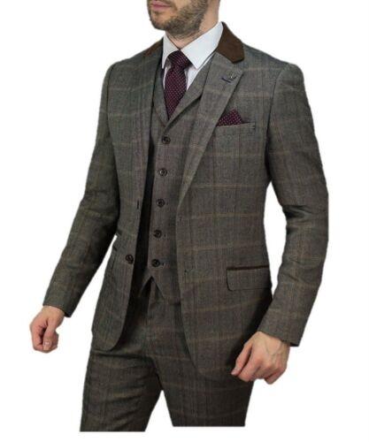 Connall Costume tweed brun coupe ajust en PWWZUc1O