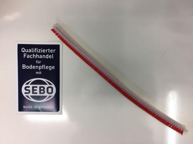 Originale Sebo Bürstreifen 2046ER Rosso extra Hart 360 mm per Sebo BS 36-360/370