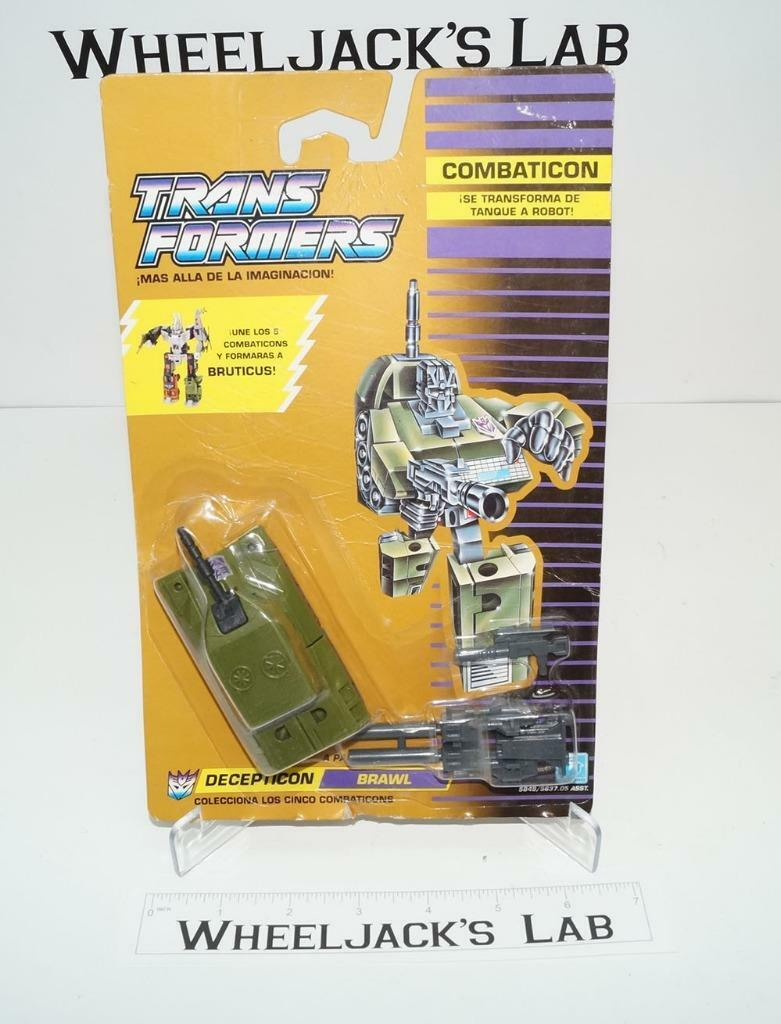 Brawl Bruticus MOSC NEW Unused Sealed Vintage Classics 1991 G1 Transformers