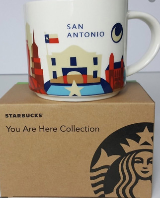 14 Oz YAH Alaska You Are Here And NWT NIB Starbucks Mug