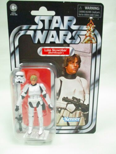 "HASBRO Star Wars Vintage Collection 3 3//4/"" Luke Skywalker Stormtrooper VC169 Comme neuf on Card"