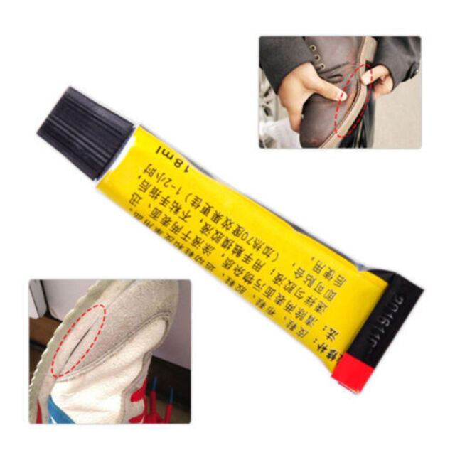 Super Adhesive Repair Glue For Leather Shoe Rubber Canvas Tube Strong Bond