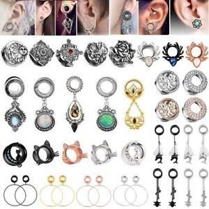 1-Pair-Stainless-Steel-Ear-Gauges-Earrings-Flesh-Tunnels-Plugs-Piercing-Jewelry