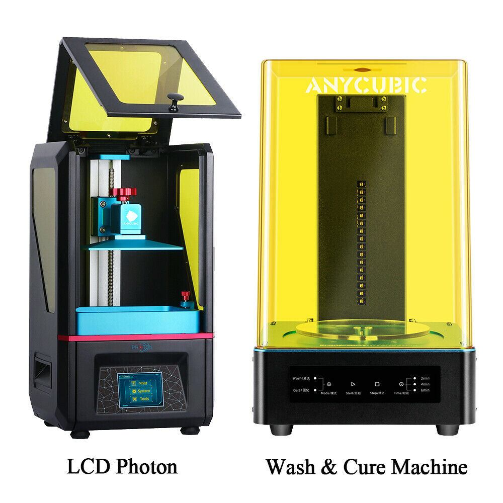 ANYCUBIC Wash & Cure Machine + LCD Photon 405nm UV Light Fast Curing 3D Printer 405nm Anycubic cure curing fast lcd light machine photon wash