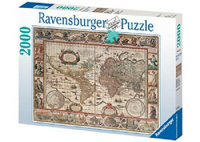 RAVENSBURGER Map of World from 1650 Puzzle 2000 Piece