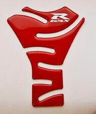 Suzuki GSX-R750 750 GSXR GSX-R Red Glossy Tank Protector Pad Sticker