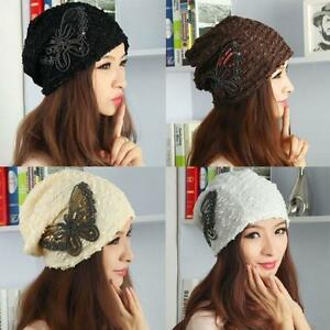 Womens Winter Warm Beanie Ladies Girls Hats Caps Outdoor Ski Hats ... 7f5d9ca2c02