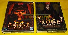 DIABLO II + LORD OF DESTRUCTION 2 Pc Versione Italiana 1ª Ed Big Box ○○ COMPLETI