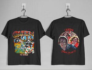 Details about VINTAGE RARE Queen 1978 Tour Band T,shirt Size S,2XL Reprint