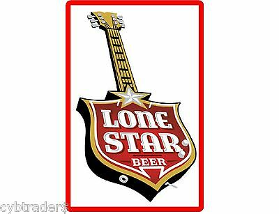 1940 Lone Star Beer Ad Refrigerator Tool Box Magnet Gift Card Insert