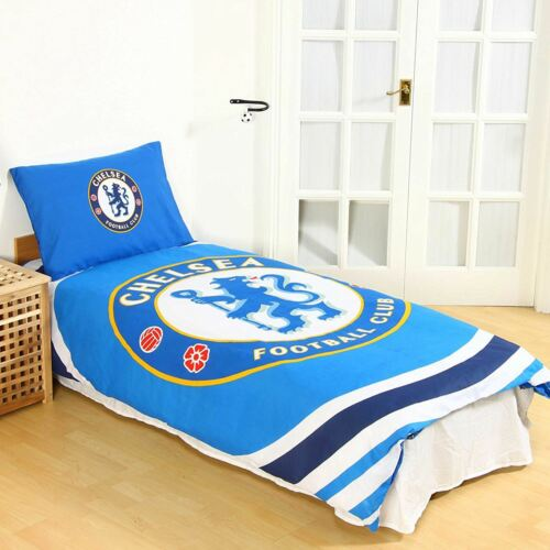Chelsea FC Pulse simple housse de couette et taie d/'oreiller officiel nouveau