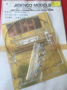 JIDENCO-MODELS-GWR-Branch-Drinking-water-tank-wagon-OO-gauge