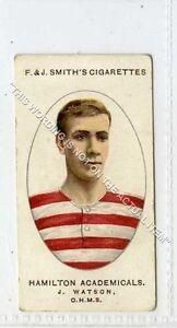 Ga6586-454-Smith-Football-Club-Records-13-J-Watson-Hamilton-Ac-1917-G-VG