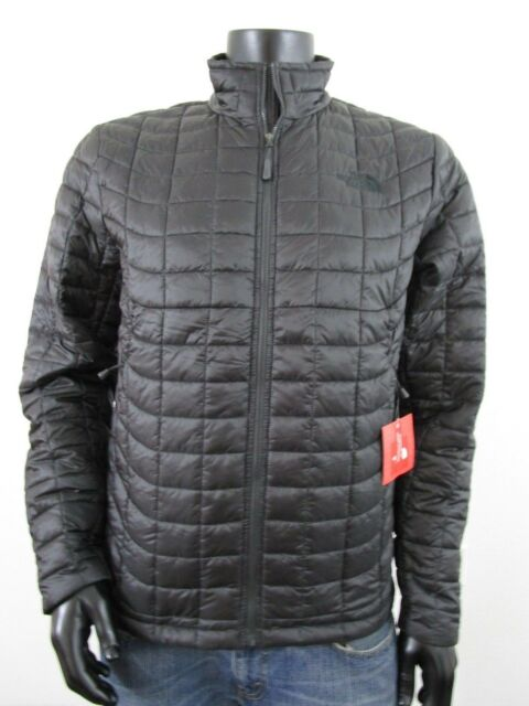 272ed414cf NWT Mens TNF The North Face Thermoball Insulated FZ Puffer Jacket - Asphalt  Grey