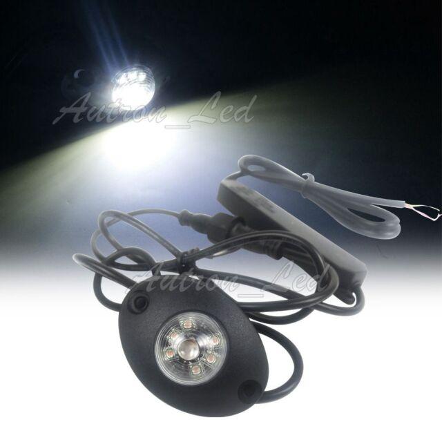 """2in1 34/"""" Amber LED Emergency Warning Signal Strobe Visor Deck Split Lightbar 40W"""