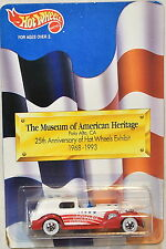 HOT WHEELS THE MUSEUM OF AMERICAN HERITAGE 25TH HW EXHIBIT '35 CLASSIC CADDY RED