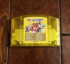 Nintendo-N64-Mario-Party-1-2-3-15-classic-nes-games-US-SELLER
