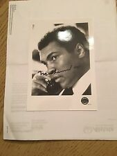 Muhammad Ali Signed Autographed Picture and letter! RARE