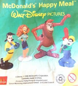 McDonalds-Happy-Meal-Toy-1996-Goofy-amp-Friends-Plastic-Toys-Various