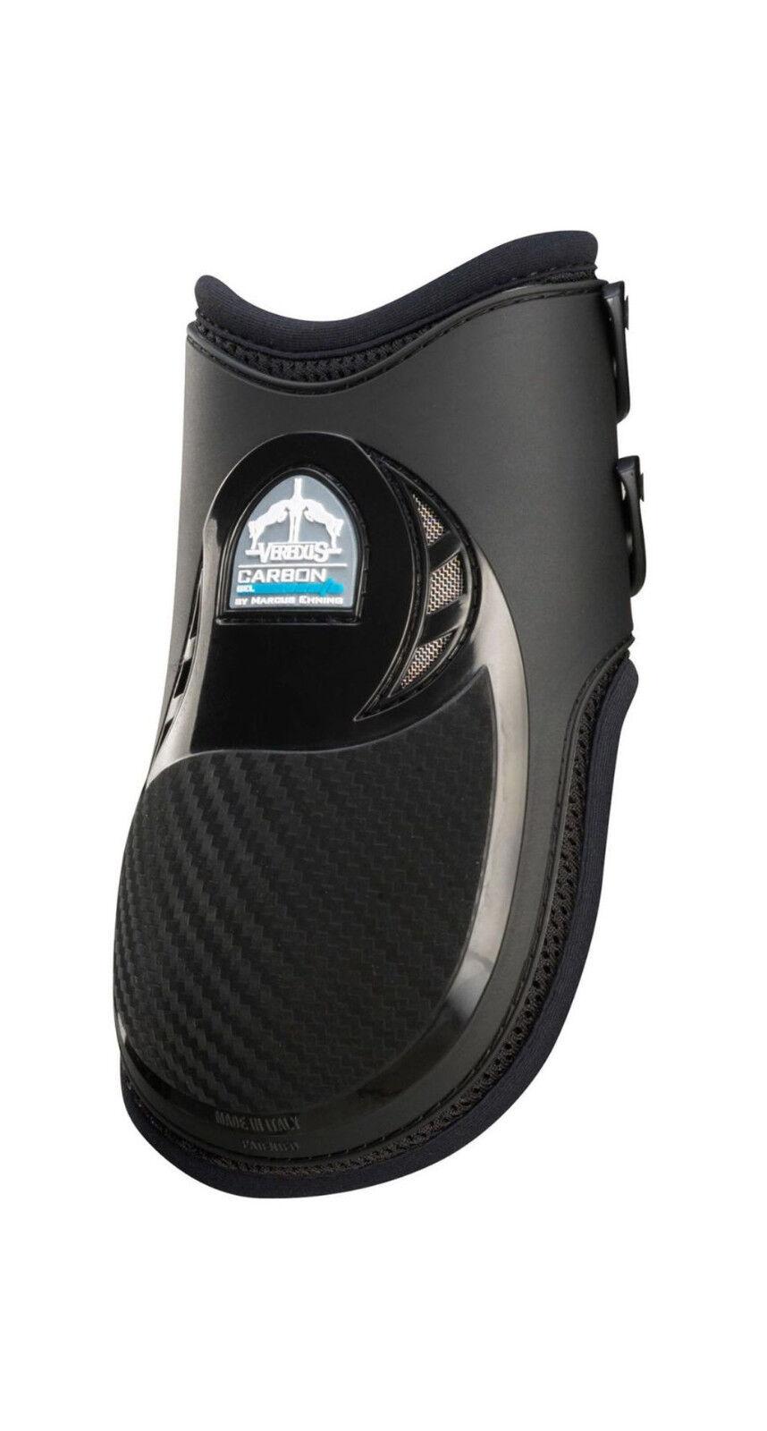 Veredus Streichkappen Carbon Gel Vento Rear hinten dopp. Belüftung black+brown