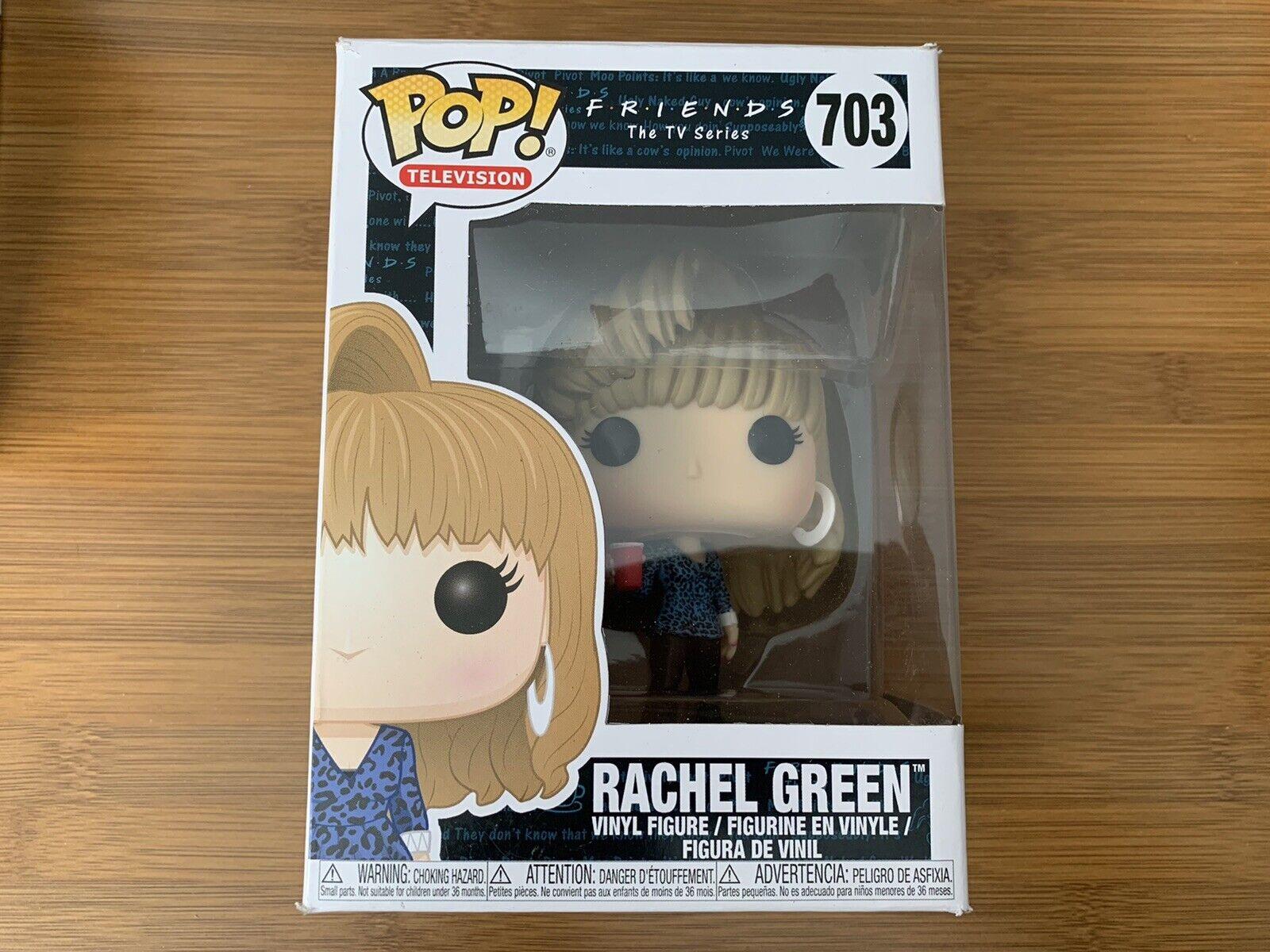 Funko Pop! Friends #703 Rachel Green Vinyl Figure - Damaged Box