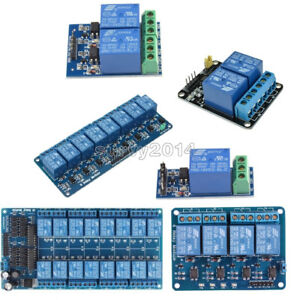 12V-1-2-4-8-16-Channel-Relay-Module-With-optocoupler-For-PIC-AVR-DSP-ARM-Arduino