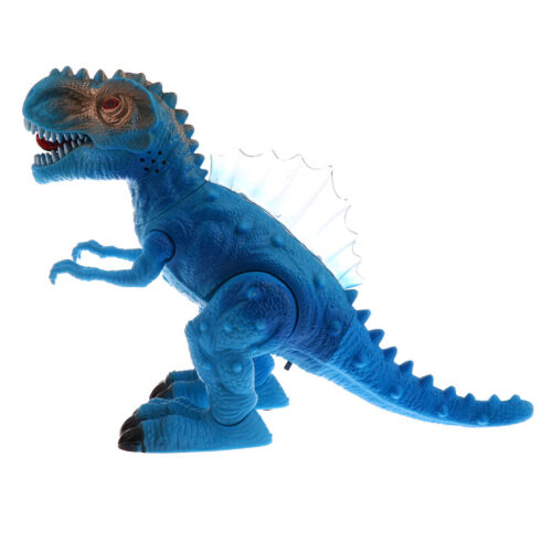 1pc Filhos Electric Walking tyrannosauro Dinossauro Luz /& Som Brinquedo Presente