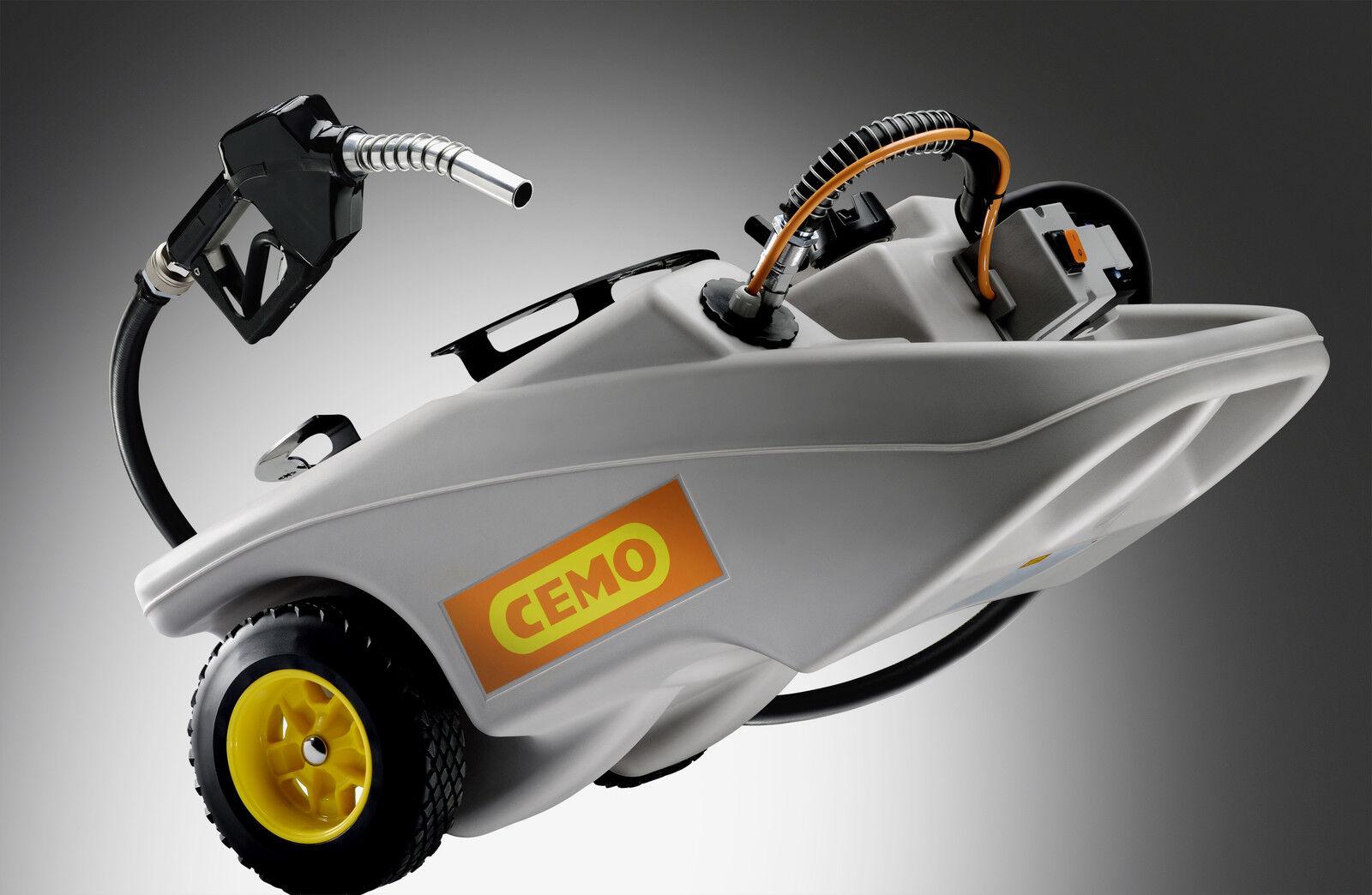 CEMO Dieseltrolley Dieseltrolley Dieseltrolley - Dieseltank /  Dieseltankstelle 60 Liter Caddy   12 V Pumpe 313f79
