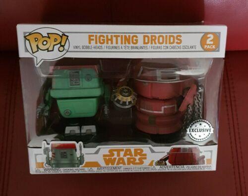 FUNKO POP Star Wars Fighting Droids Brand New