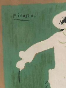 Signed-Picasso-Lithograph-Paris1922