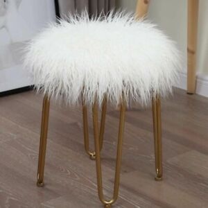 Long-Fur-Seat-Cushion-Home-Office-Soft-Chair-Cover-Round-Comfortable-Floor-Pad
