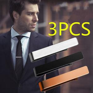 Standard Pin Stainless Steel Men Chic Gentleman Slim Collar Tie Clip Clasp Bar