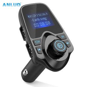 Sans-fil-Bluetooth-voiture-Transmetteur-FM-Lecteur-MP3-LCD-SD-Radio-USB-chargeur