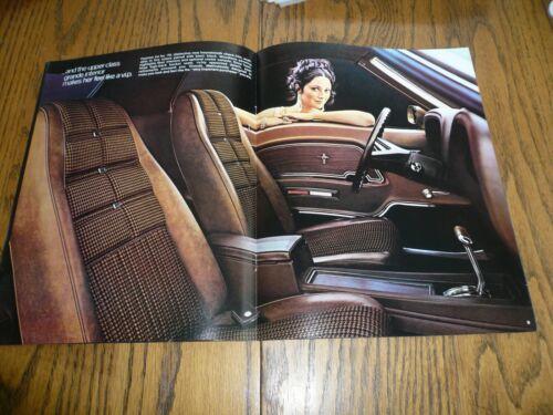 Vintage 1970 Ford Mustang Sales Brochure