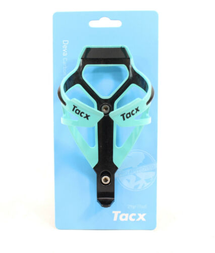 TACX Deva Bicycle Cycling Water Bottle Cage 29 Grams Bianchi Green Celeste New