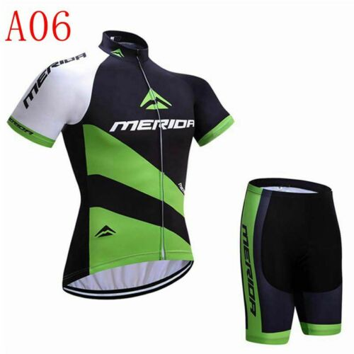 Men Cycling Jersey Set Short Sleeve Summer Shorts Bicycle Clothes Quick Dry L130